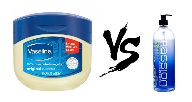 Vaseline vs Lube